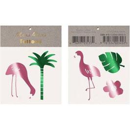 """Meri Meri Tattoos """"Flamingo"""""""