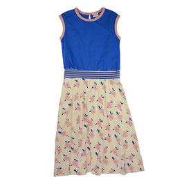 ba*ba Kidswear Sommerkleid Streifen blau/rosa