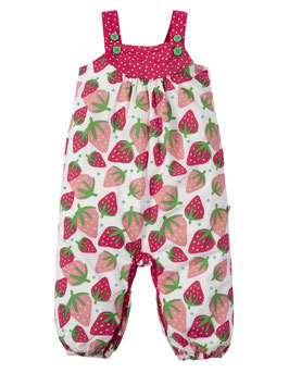 Frugi Latzhose Erdbeere