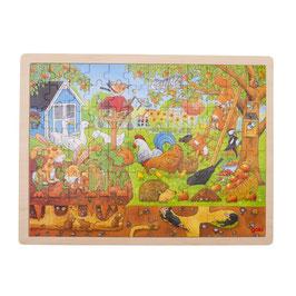 """Goki Einlegepuzzle """"Mein Garten""""  3+ Jahre"""