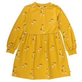 Müsli by Green Cotton Chanterelle Kleid mustard