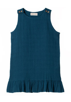 NEU Organic by Feldman Jumper Dress petrol blue
