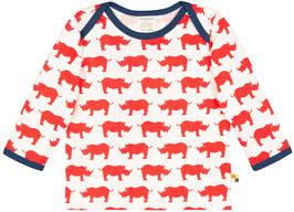 Loud + Proud Shirt Langarm Nashorn cayenne