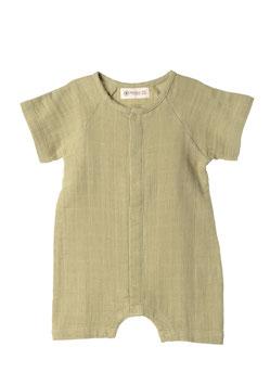 NEU Organic by Feldman Musselin Baby Playsuit - sage green