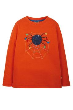 Frugi Shirt Langarm Spider orange