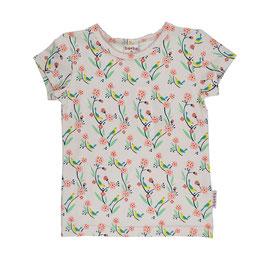 ba*ba T-Shirt Vogel rosa