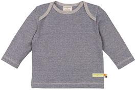 Loud + Proud Shirt Langarm Mico-Streifen blau/grau