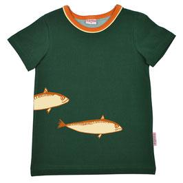 ba*ba Kidswear T-Shirt Fische evergreen