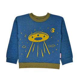 ba*ba Sweatshirt Space blau