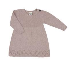 NEU Puri Organic Strick-Kleid puderrose
