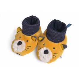 NEU Moulin Roty Babyschüchen Katze Lulu