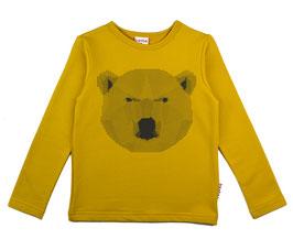 ba*ba Kidswear Shirt Langarm Eisbär senf