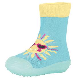 Sterntaler Adventure Socks Sonne hellblau/ gelb