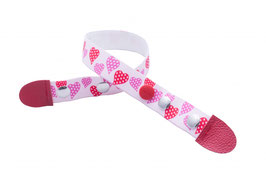 Clip.Ho Gürtel Herz rosa