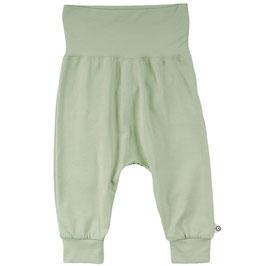 NEU Müsli by Green Cotton Pocket Pants pale moss