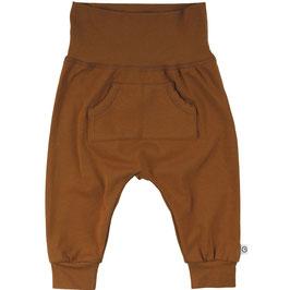 Müsli by Green Cotton Pocket Pants ocher
