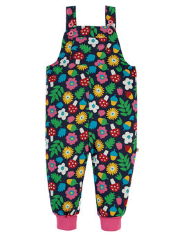 NEU Frugi Latzhose Lost Words indigo