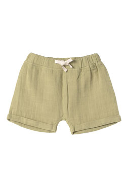 NEU Organic by Feldman Musselin Jimmy Shorts - sage green