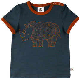Müsli by Green Cotton T-Shirt Rhino midnight