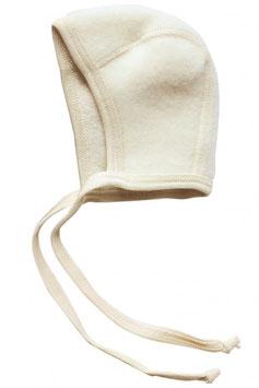 Engel Schurwoll- (Merinowolle) Babymütze natur