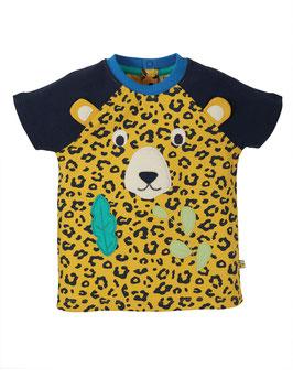Frugi Raglan T-Shirt Leopard