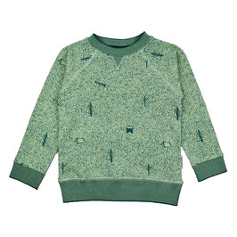 ba*ba Kidswear Sweater nature green