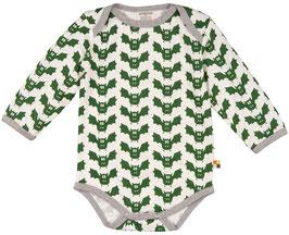 Loud + Proud Body Langarm Fledermaus grün