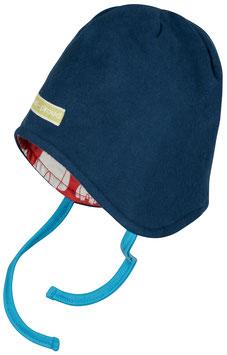 NEU Loud + Proud Fleece Wendemütze ultramarin