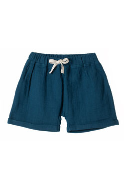 NEU Organic by Feldman Musselin Jimmy Shorts - petrol blue
