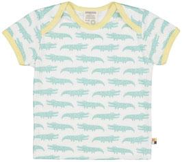 Loud + Proud T-Shirt Krokodil mint