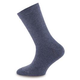 NEU Ewers 1 Paar Socken Uni jeans melange