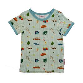 ba*ba Kidswear T-Shirt Picknick hellblau