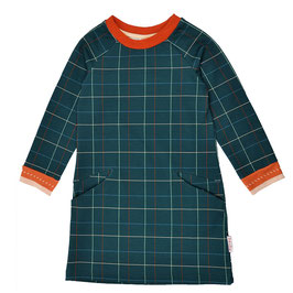 ba*ba Kidswear Pocket dress petrol