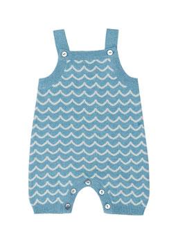 NEU Puri Organic Strick-Spieler Wellen bristol blue