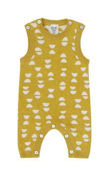 NEU Puri Organic Strick-Overall Halbmond mango
