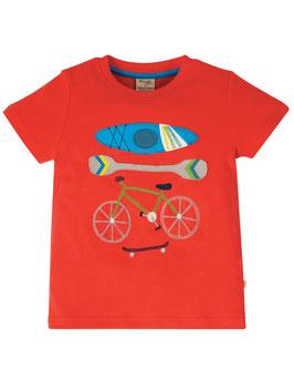 Frugi T-Shirt Sport rot