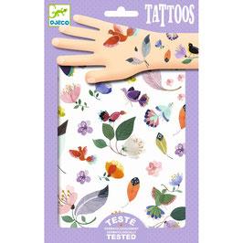 "NEU Djeco Tattoos ""Vögelchen"""