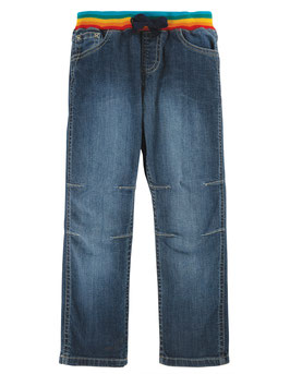 NEU Frugi Cody Comfy Jeans Light Wash Denim