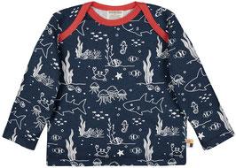 NEU Loud + Proud Shirt Langarm Meereswelt ultramarin