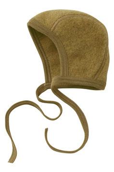 Engel Schurwoll- (Merinowolle) Babymütze safran