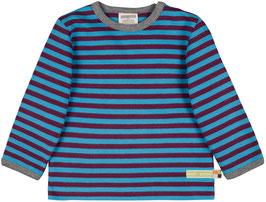 NEU Loud + Proud Shirt Langarm Ringel plum/aqua