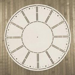 Soporte reloj madera 20 x 20