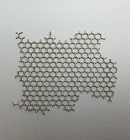 Chipboar panel abeja