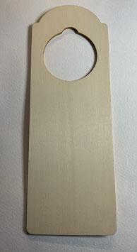 Cartel madera puerta