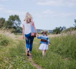 Partnerlook Mama und Kind - Shopper und Rucksack
