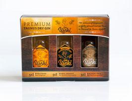 Ursel Premium Taunus Gin Geschenkbox 3x5cl