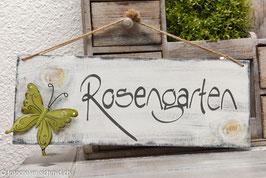 "Schablone ""Rosengarten"""