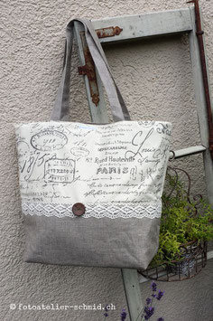 "Maxi-Shopper / Badetasche ""Paris"""