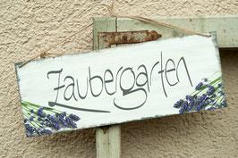 "Schablone ""Zaubergarten"""