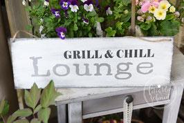 "Schablone ""Grill & Chill Lounge"""